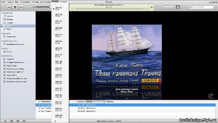 Аудиокнига дети капитана гранта скачать бесплатно mp3